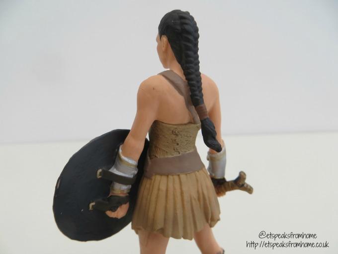 Schleich Wonder Woman Figurine back