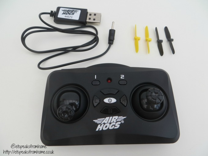 air hogs spin master instructions