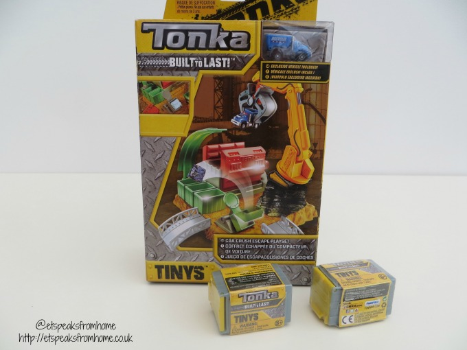 Tonka Tinys Mini Playset Review
