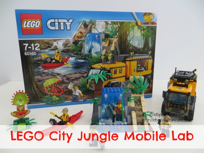 lego city jungle mobile lab review