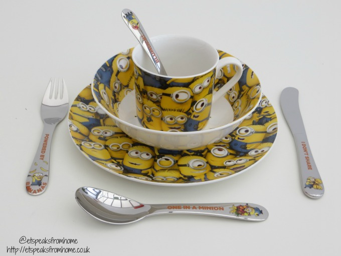 Despicable Me 3 Arthur Price Cutlery review