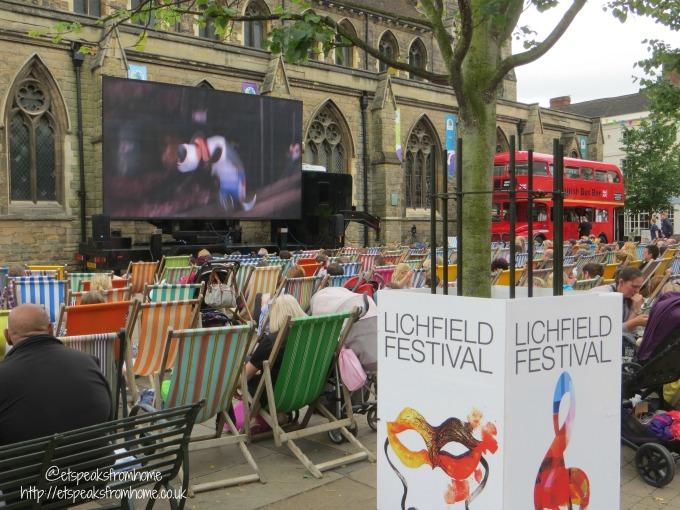 Despicable Me 3 festival pack lichfield food festive cinema