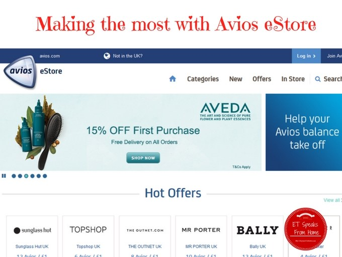 Making the most with Avios eStore