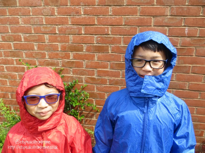dry kids waterproof jacket wearing