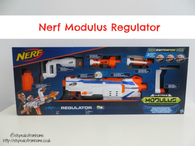 nerf modulus regulator review