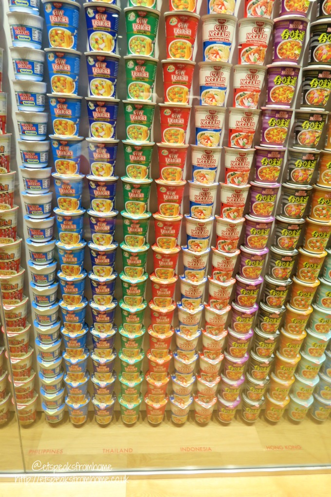 A trip to The Momofuku Ando Instant Ramen Museum, Osaka cup