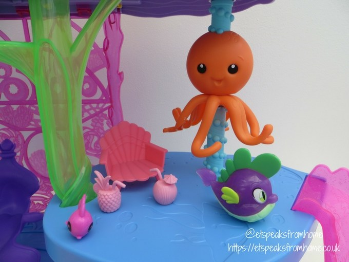 My Little Pony The Movie Canterlot and Seaquestria Playset octopus