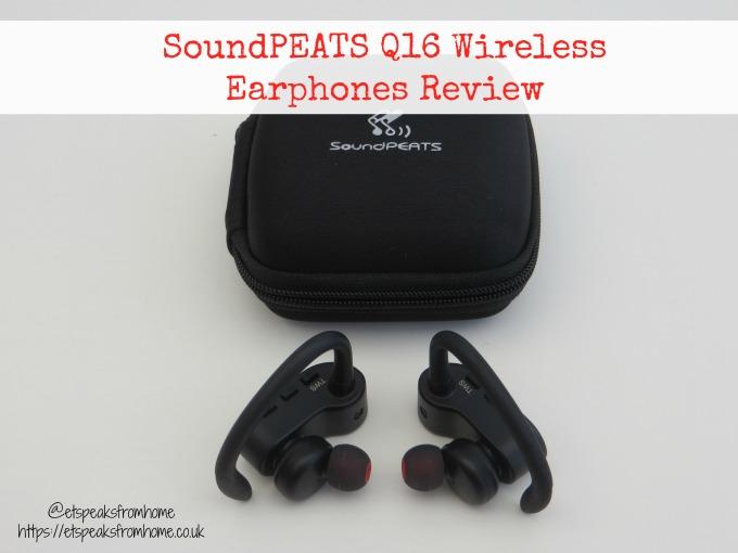SoundPEATS Q16 Wireless Earphones Review & Giveaway