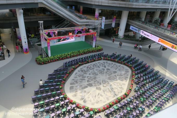 Tampines Hub atrium
