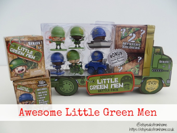Awesome Little Green Men review