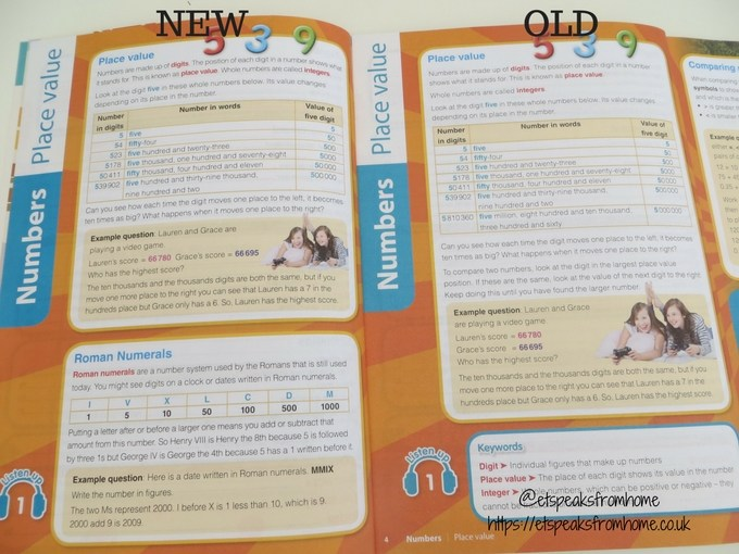 Letts SATs old and new math review Key Stage 2