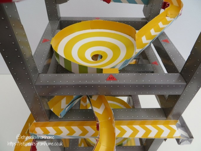 Master Builder Roller Coaster Marble Run spinning