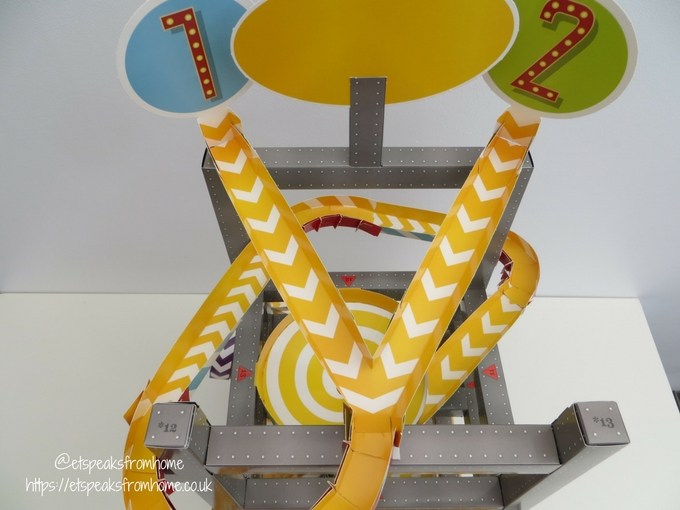 Master Builder Roller Coaster Marble Run tracks
