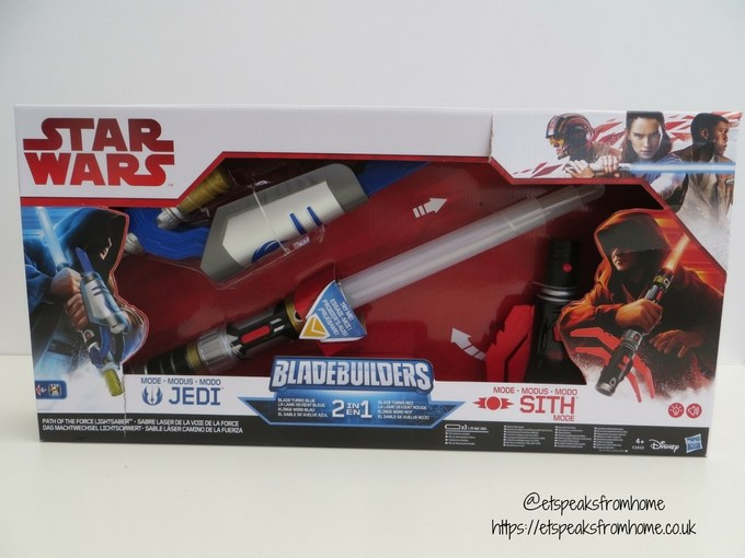 Star Wars Bladebuilders 2in1 Path of The Force lightsaber