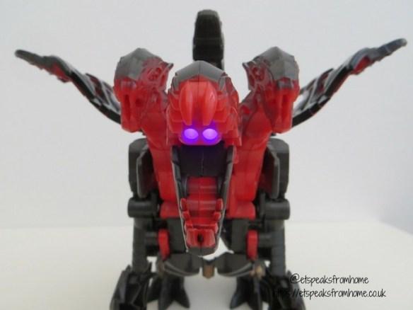 Transformers The Last Knight Mega 1-Step Turbo Changer Dragonstorm light
