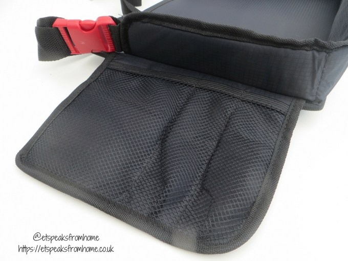 supa-dupa travel tray bag pockets