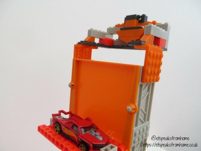 Hot Wheels Track Builder Stunt Bridge Kit first challenge