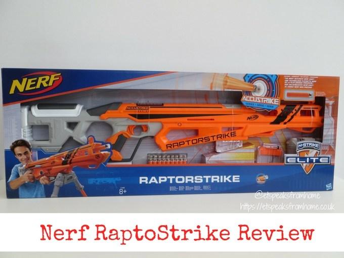 Nerf N-Strike Elite AccuStrike RaptorStrike Review - ET