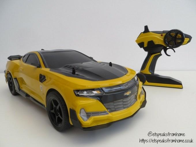 Transformers radio control bumblebee side