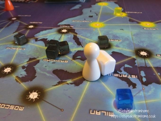 pandemic board game headquater
