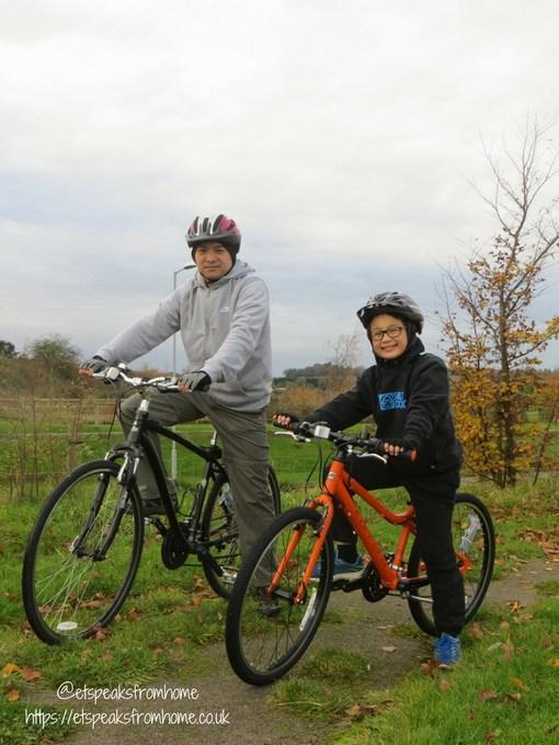 Carrera Abyss Junior Hybrid Bike ride