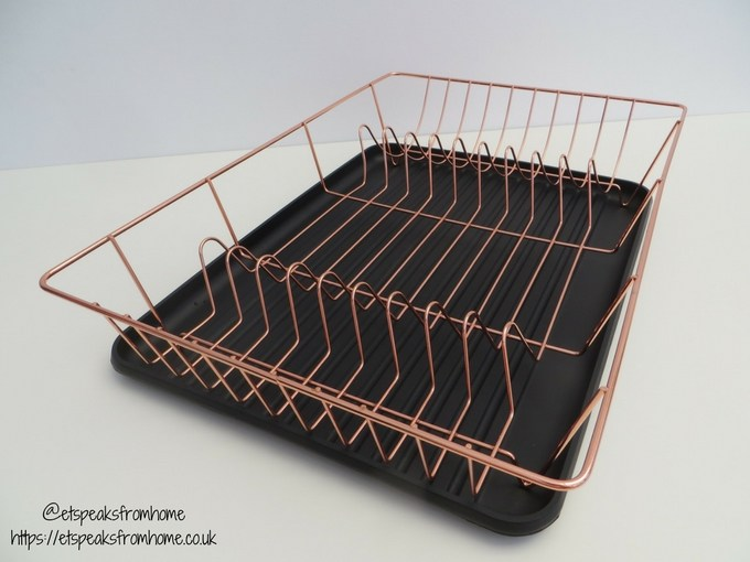 Copper Kitchenware at Red Candy dish rack