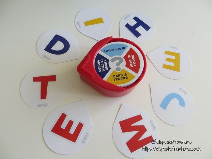 John Adams Ideal Game think words spin cards