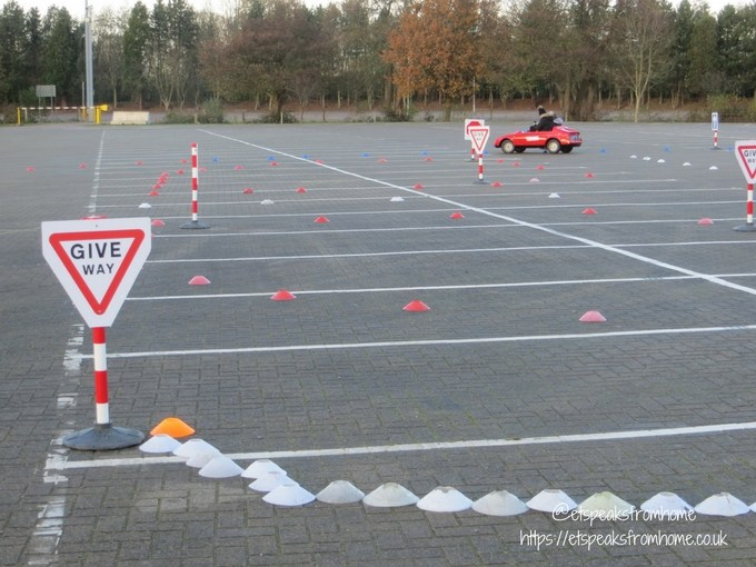 Young Driver Electric Firefly course