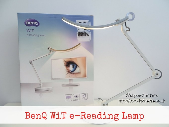 benq WiT e-reading lamp review