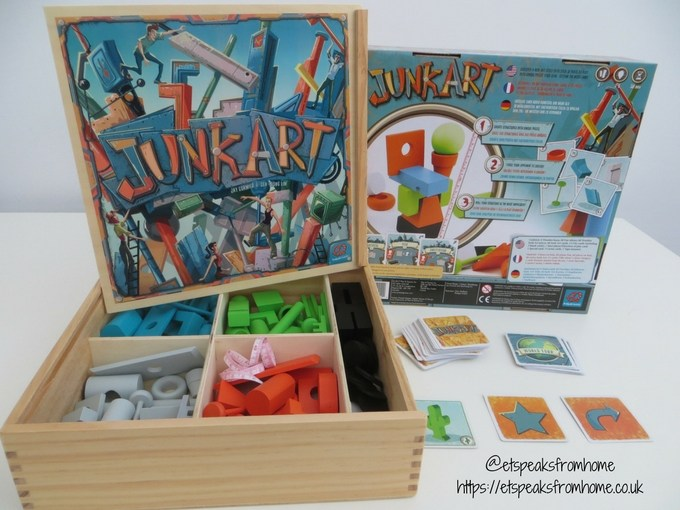 Junk Art Game Review Et Speaks From Home