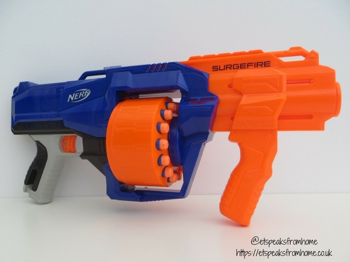 Nerf N-Strike Elite Surgefire cocking