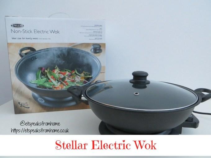 Stellar Electric Wok review