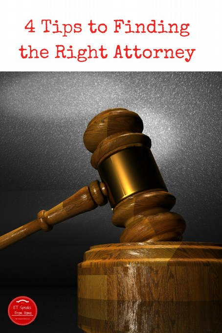 4 Tips to Finding the Right Attorney