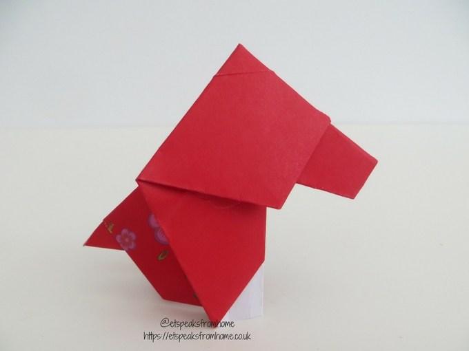 Ang Pow Origami Dog chinese new year 2018 step 11