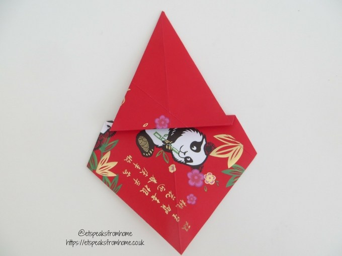Ang Pow Origami Dog chinese new year 2018 step 4