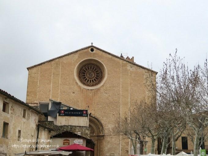 Fun Sightseeing in Palma with Oreo Santa Maria dels Angels church