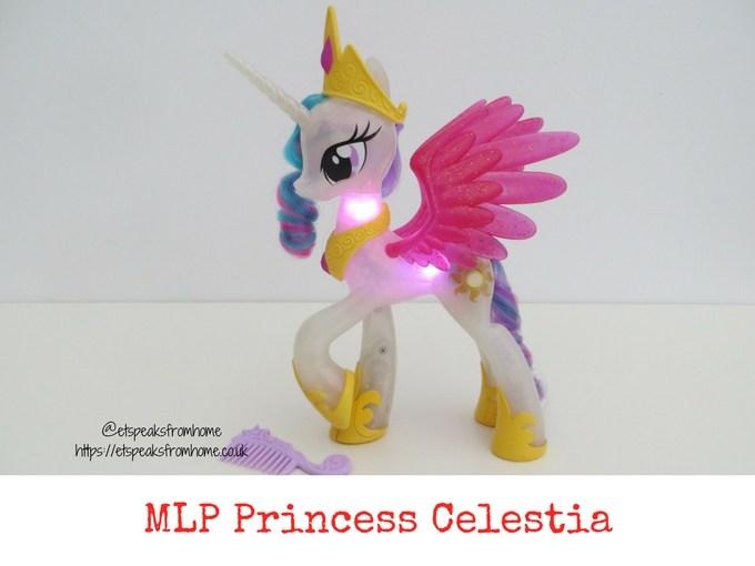 my little pony glitter and Glow Princess Celestia review