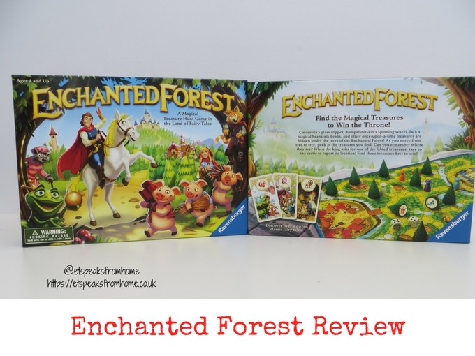 Enchanted Forest Board Game review