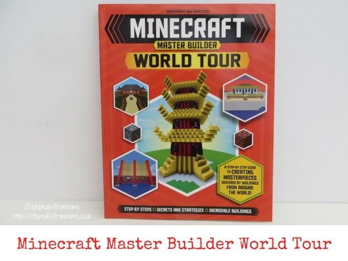Minecraft Master Builder World Tour book review