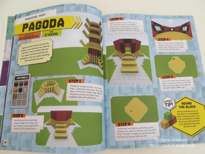Minecraft Master Builder World Tour book