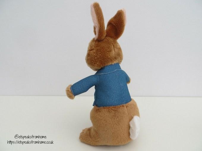 Talking Peter Rabbit Movie back