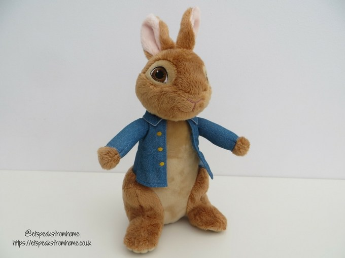 Talking Peter Rabbit Movie front