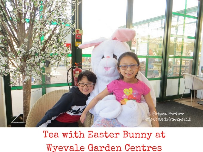 Tea with Easter Bunny at Wyevale Garden Centres