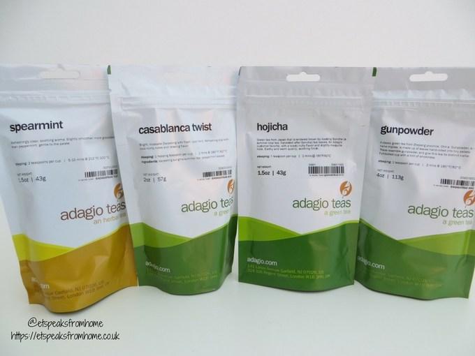adagio teas review loose tea in bag