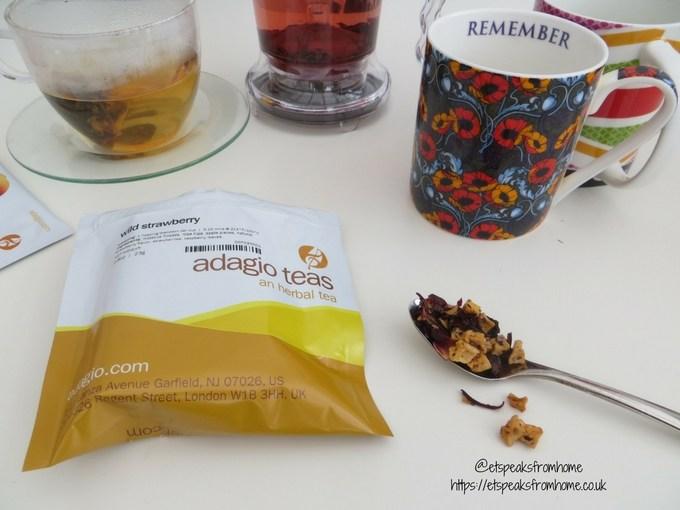 adagio teas review trying