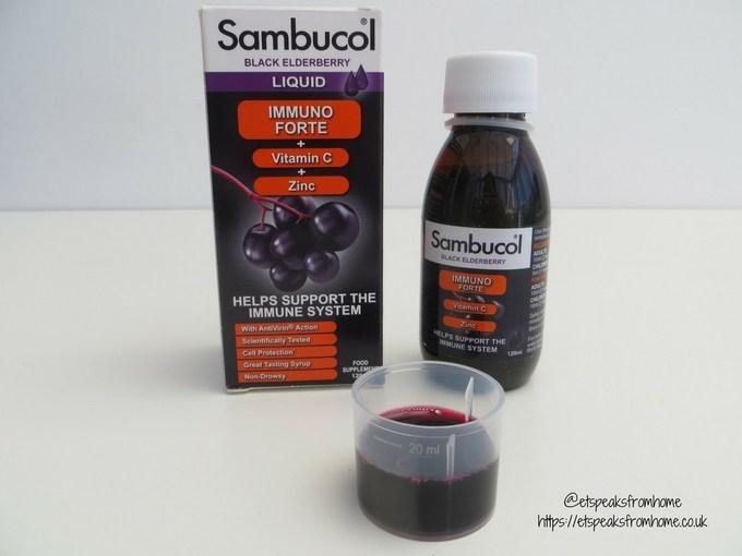 sambucol black elderberry liquid