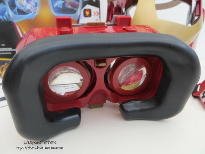 Hero Vision Iron Man AR Experience goggles