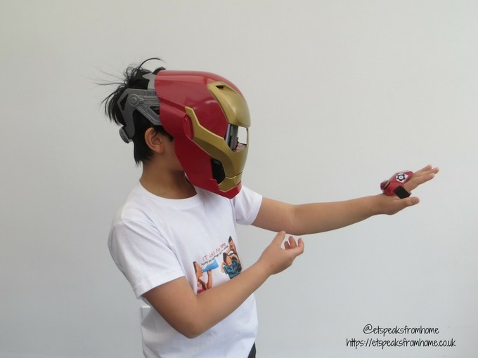 Hero Vision Iron Man AR Experience playing