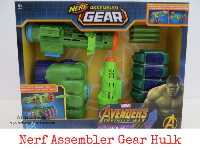 Nerf Assembler Gear Hulk Review