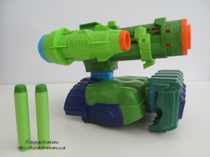Nerf Assembler Gear Hulk blaster